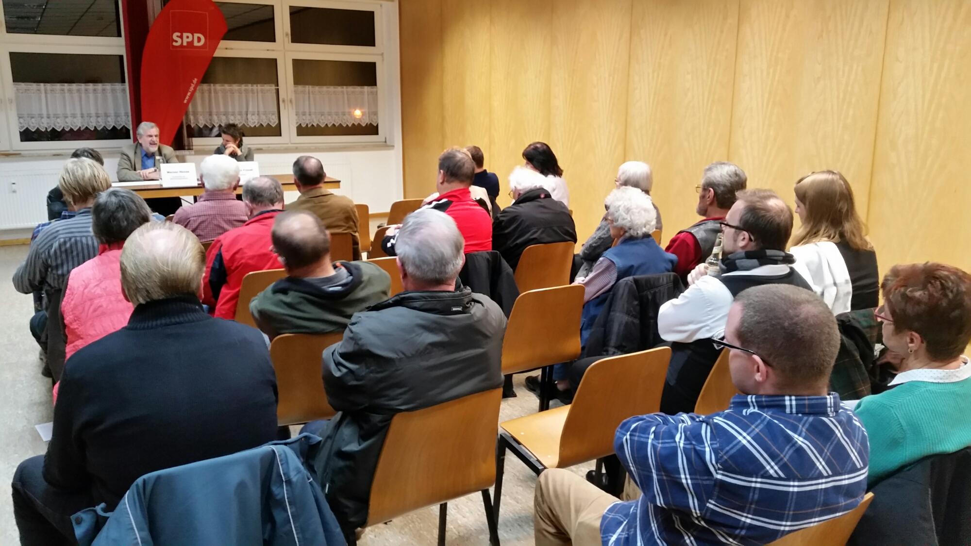Bürgerdialog zum Kommunalwahlprogramm 2016