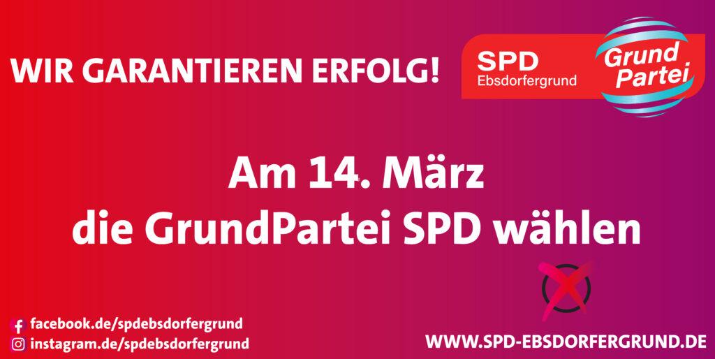Grundpartei SPD wählen!